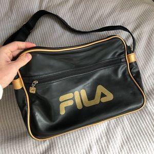 Vintage Fila messenger bag